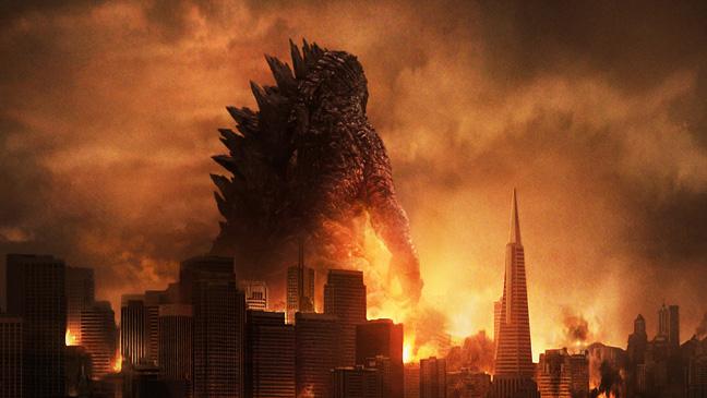 Godzilla poster H - 2014