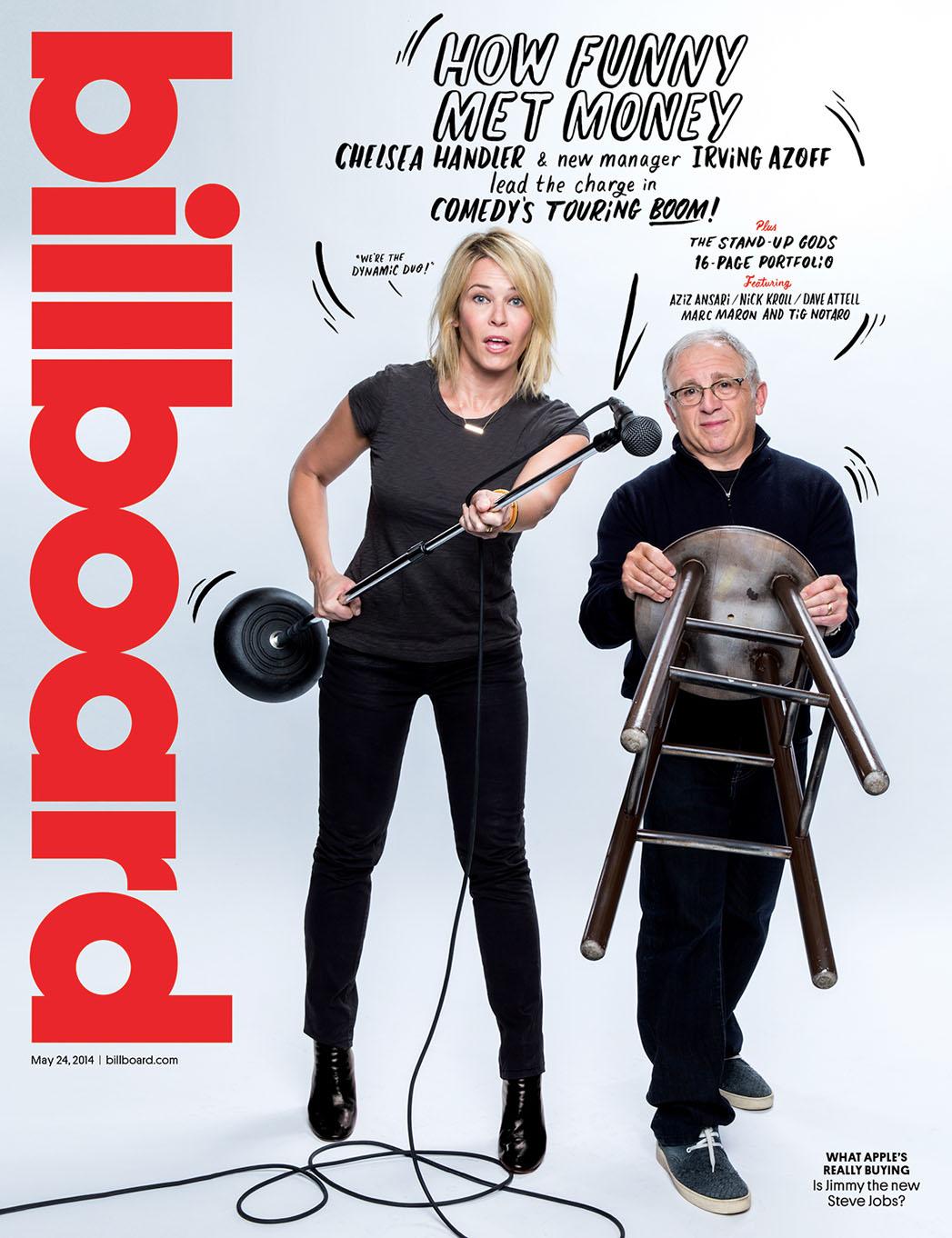 Billboard Cover 17 Comedy Issue - P 2014