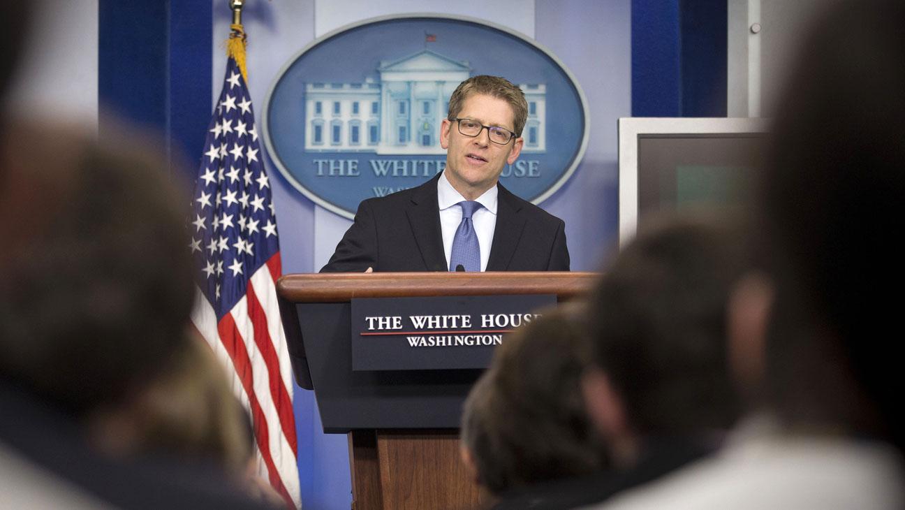 Jay Carney White House Press Secretary - H 2014