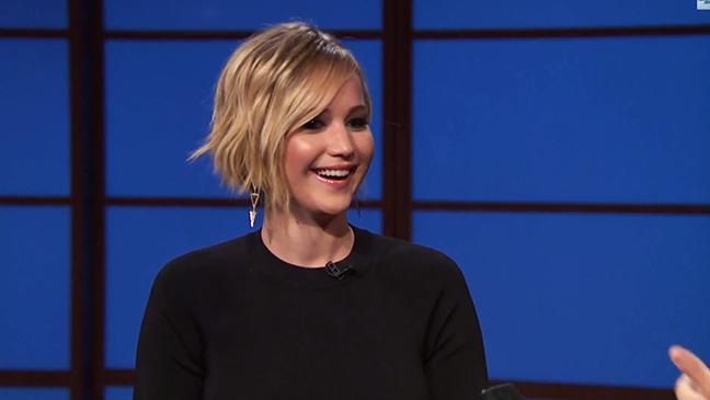Jennifer Lawrence Late Night - H 2014