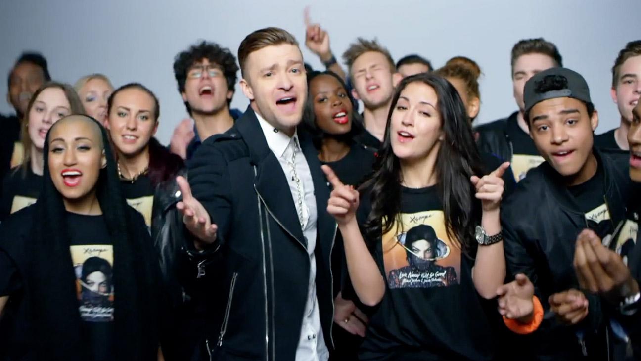 Justin Timberlake MJ Music Video Ellen Screengrab - H 2014
