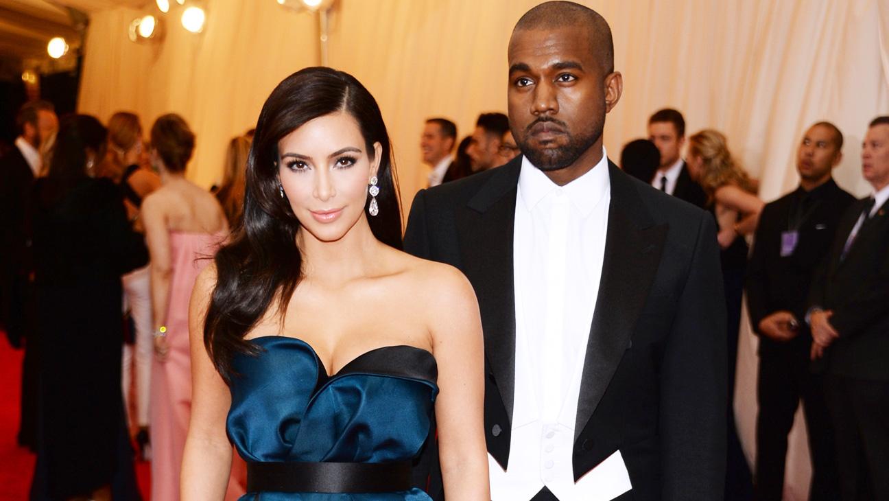 Kim Kardashian Kanye West Met Gala - H 2014