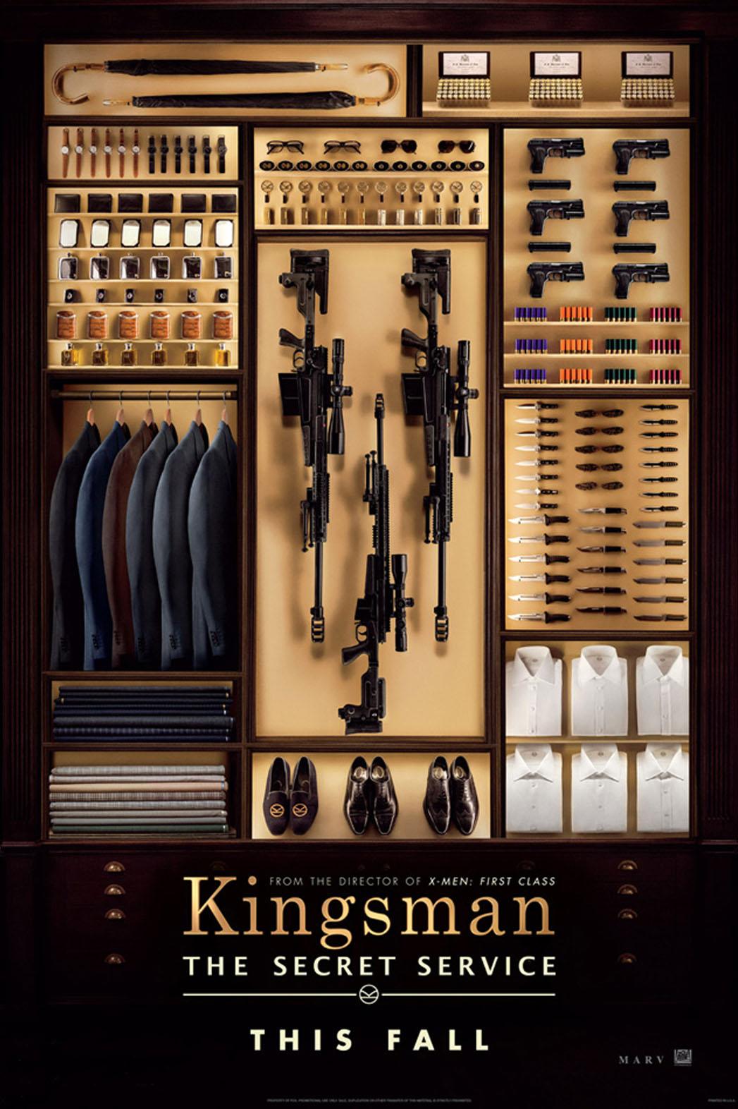 Kingsman Preview Poster - P 2014