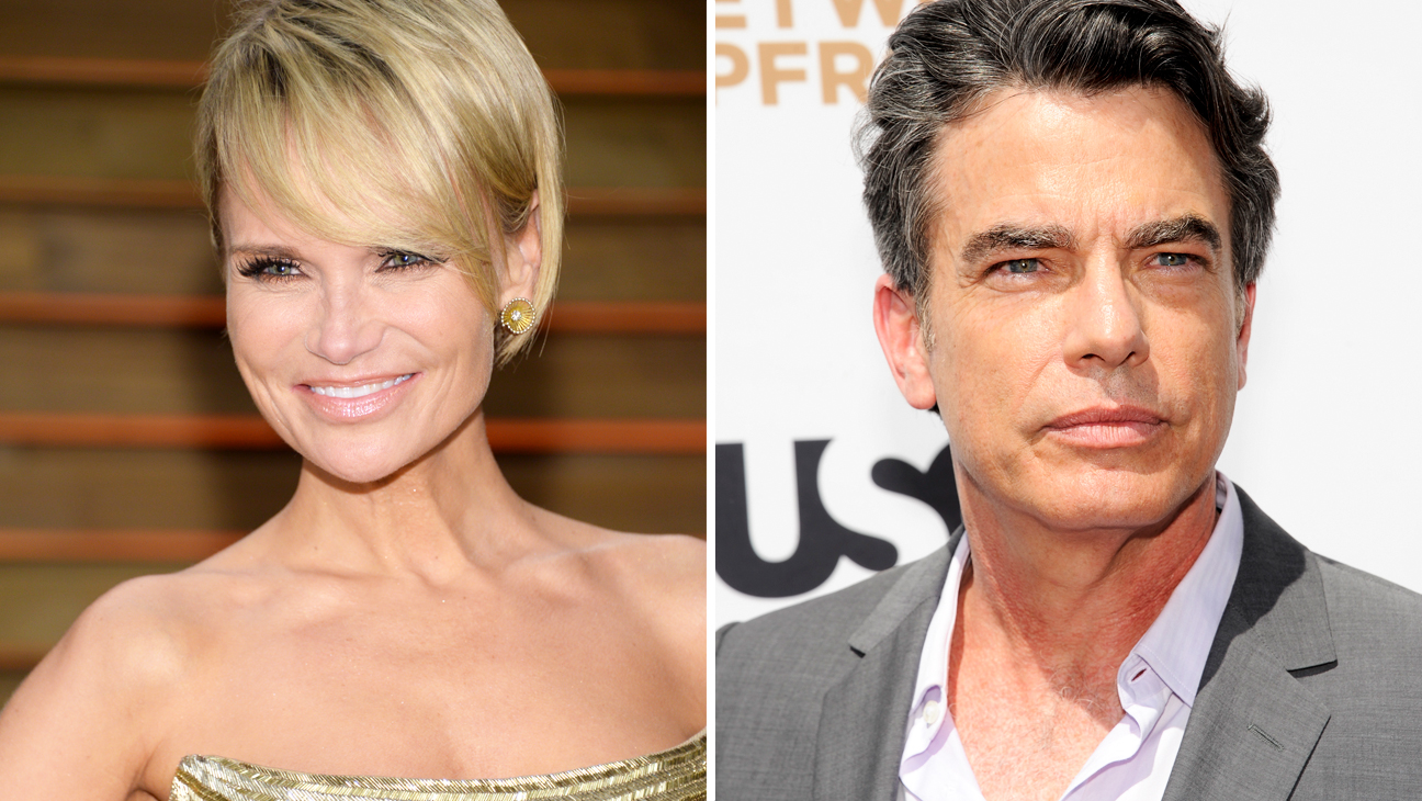 Kristin Chenoweth Peter Gallagher Split - H 2014