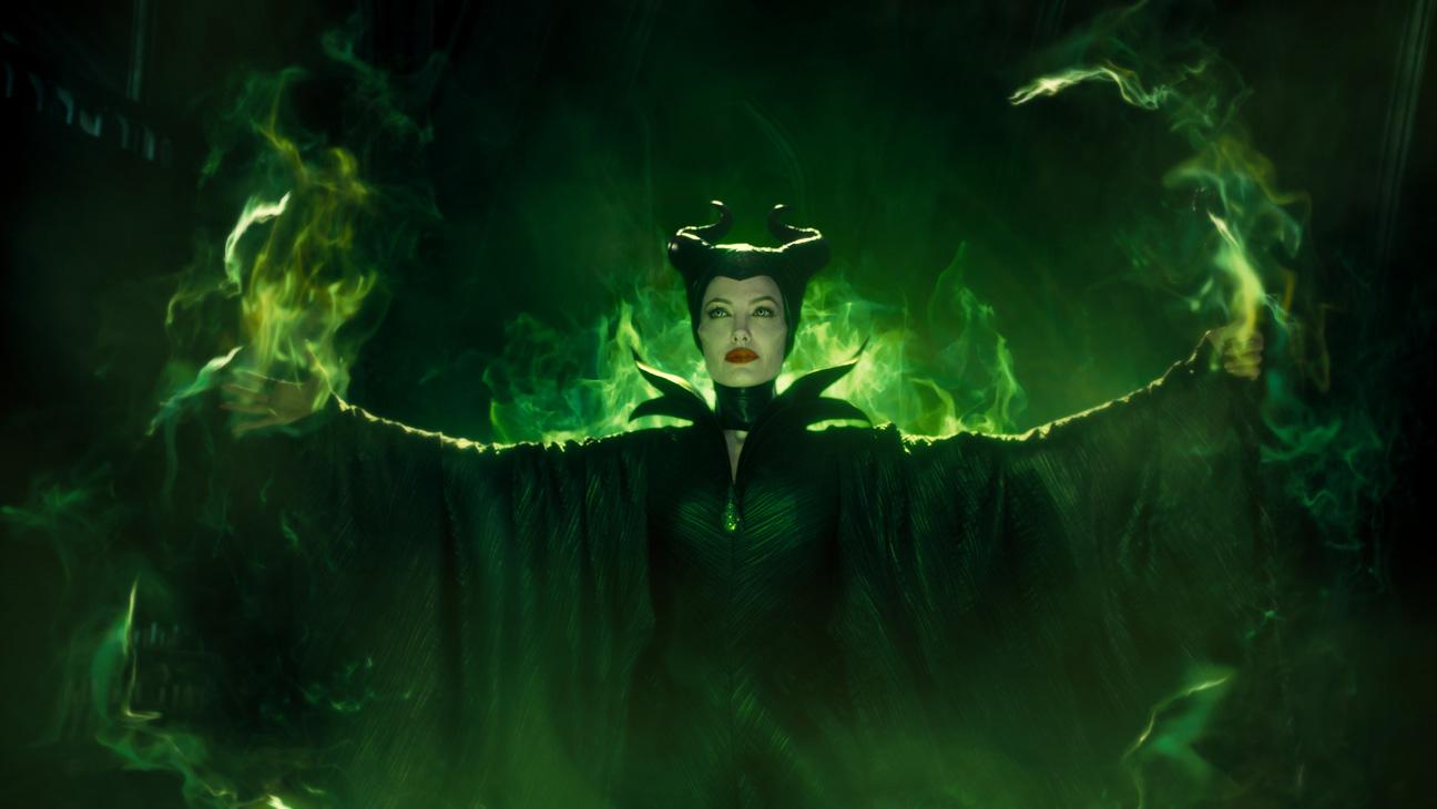 Maleficent Green Fire Still - H 2014