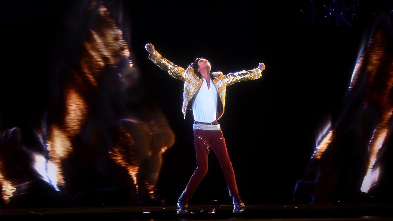 Michael Jackson Hologram Billboard Music Awards - H 2014