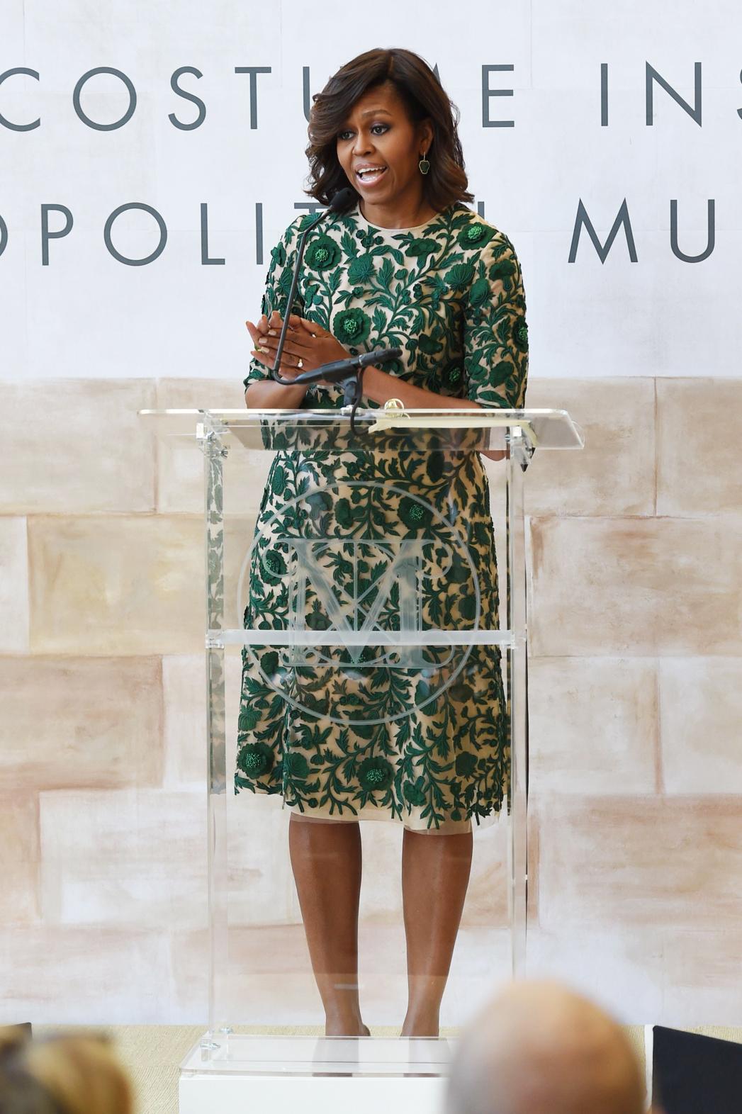 Michelle Obama Met Museum Anna Wintour Costume Center - P 2014