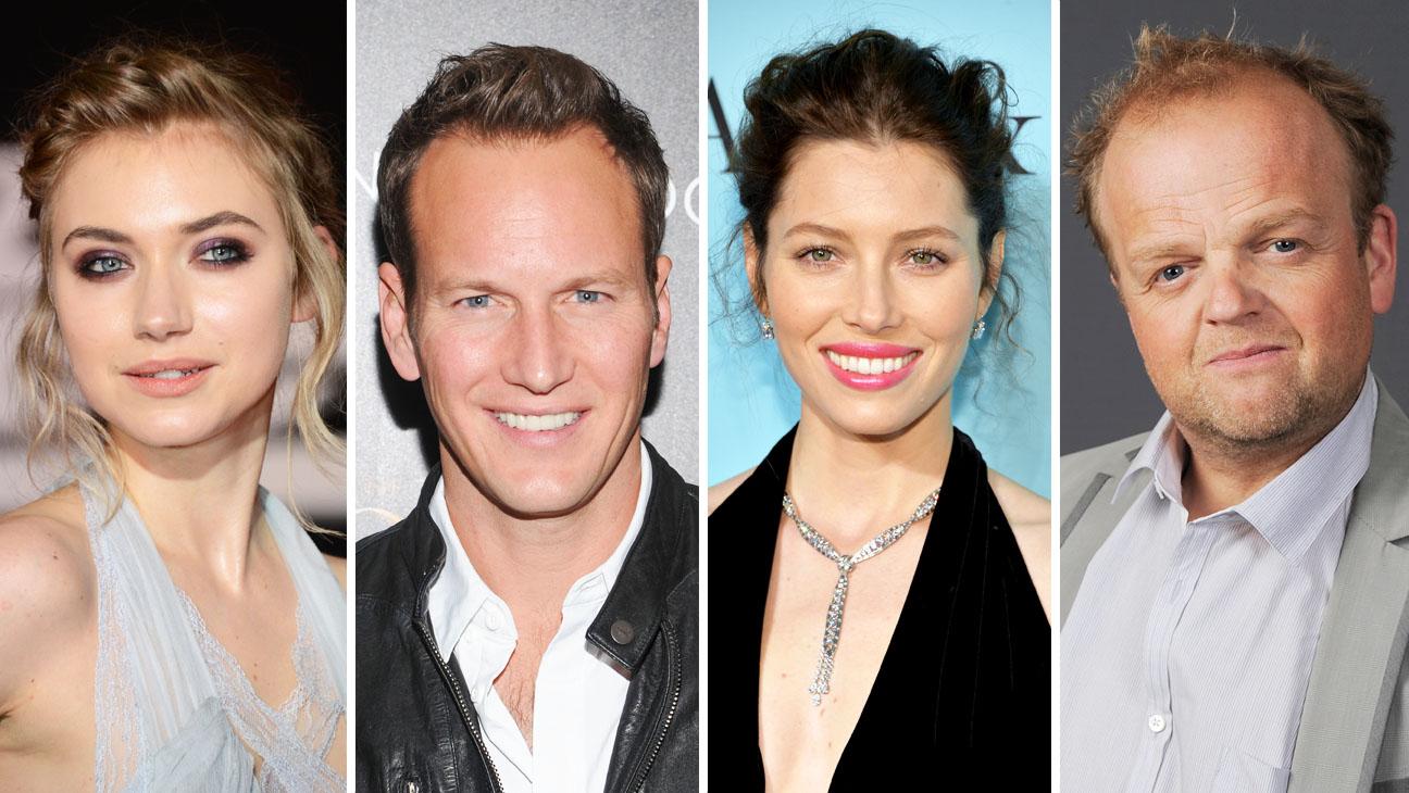 Patrick Wilson, Jessica Biel, Imogen Poots and Toby Jones Split - H 2014