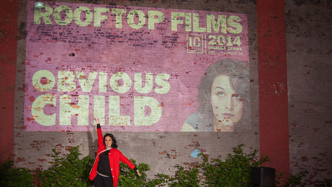 Rooftop Film Obvious Child - H 2014