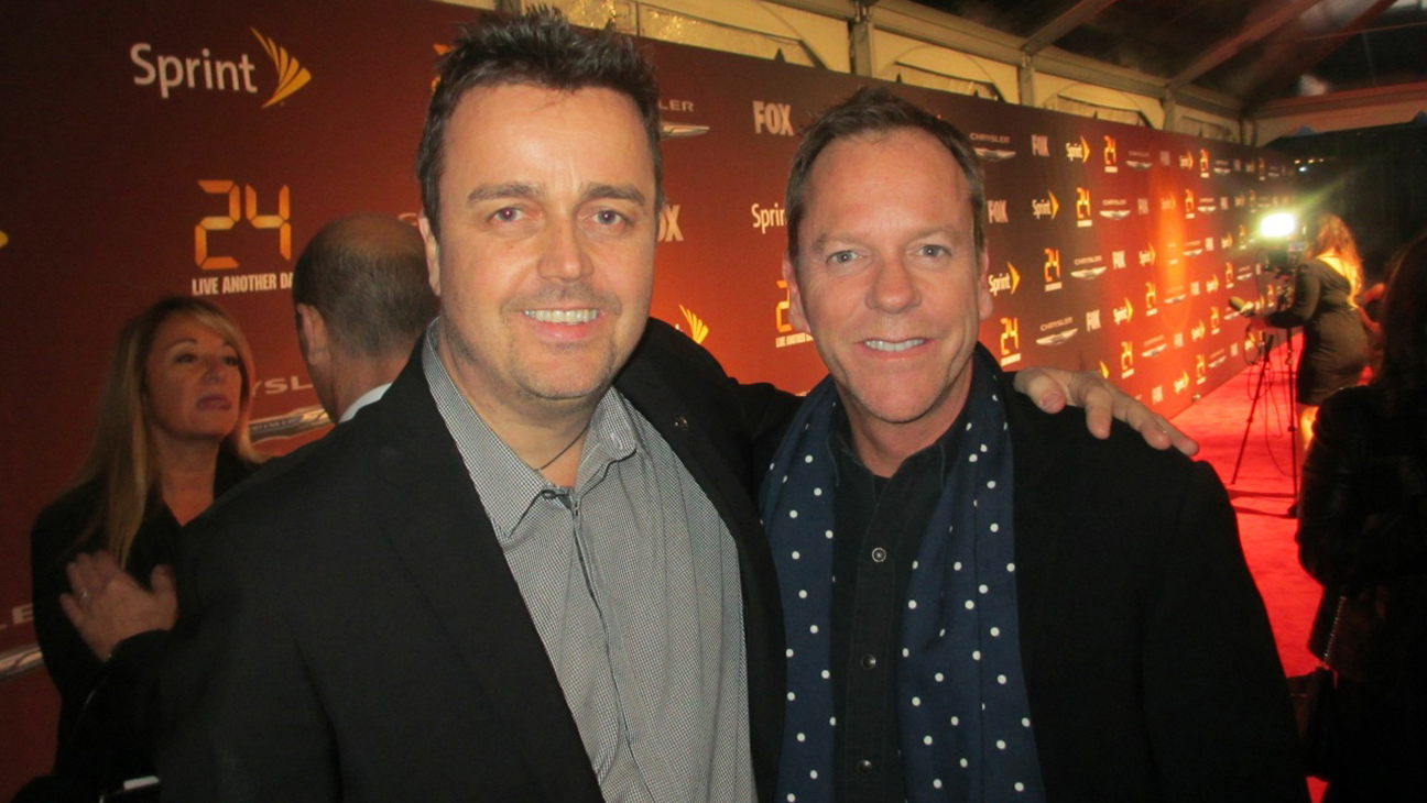 Sean Callery and Kiefer Sutherland - H 2014