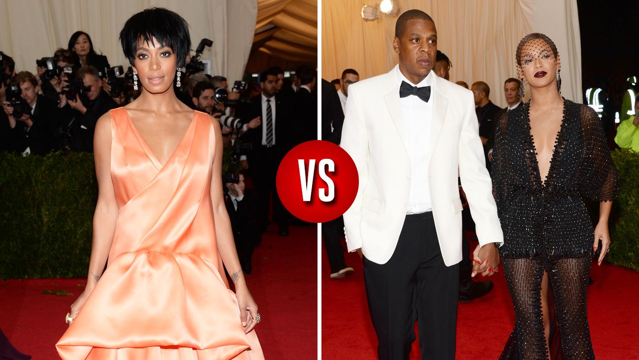 Solange Knowles Jay-Z Beyonce Split - H 2014