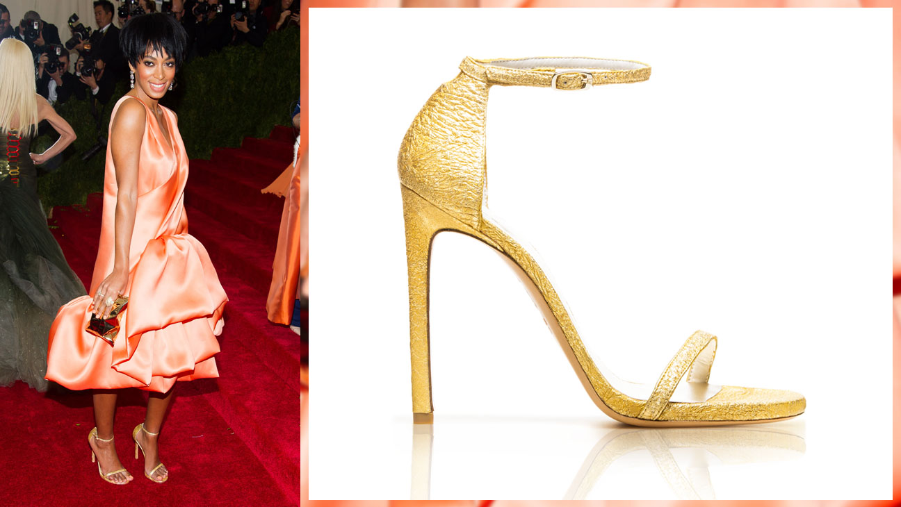 Solange Knowles MET Ball Shoes Border - H 2014