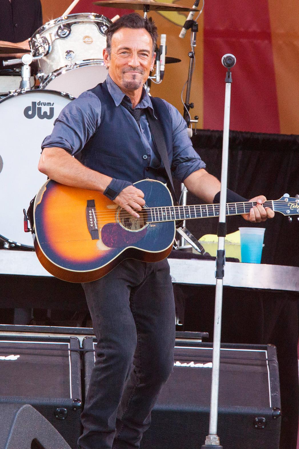 Bruce Springsteen New Orleans JazzFest - P 2014