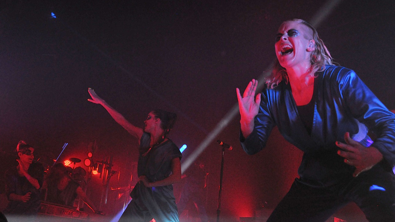 The Knife NYC Performing - H 2014