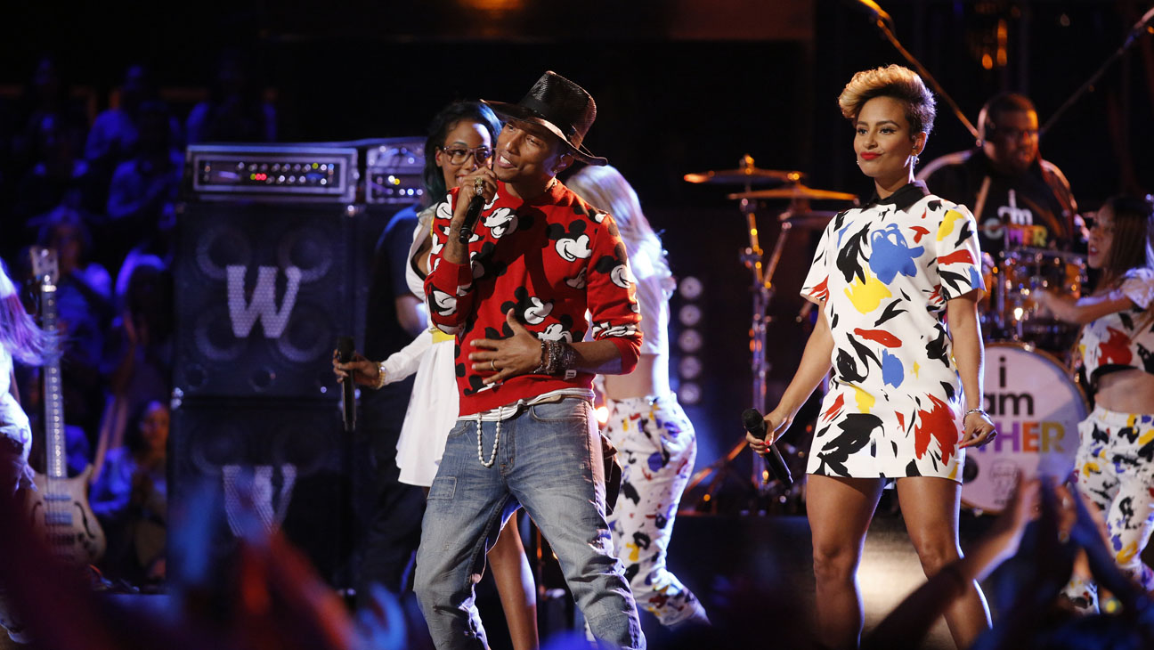The Voice Pharrell Williams May 6 - H 2014