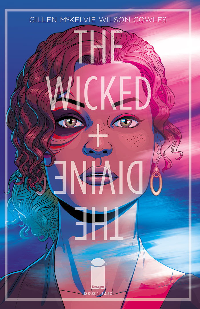 The Wicked + The Divine Comic Cover - P 2014