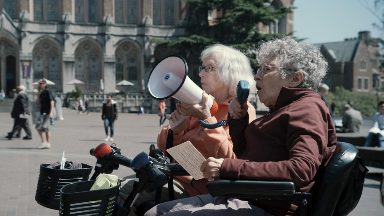 Two Raging Grannies Film Still - H 2014