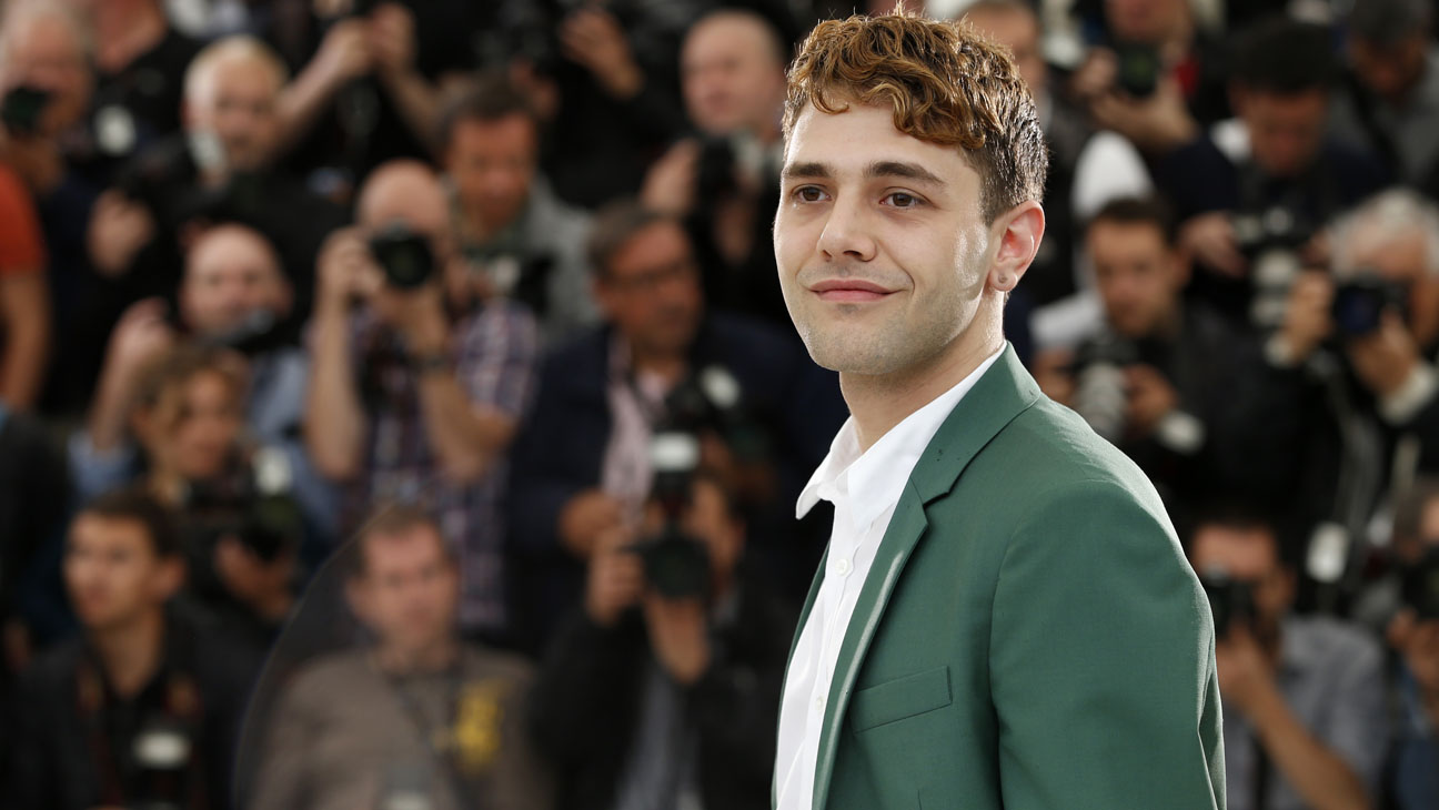 Xavier Dolan Cannes Mommy Photo Call - H 2014