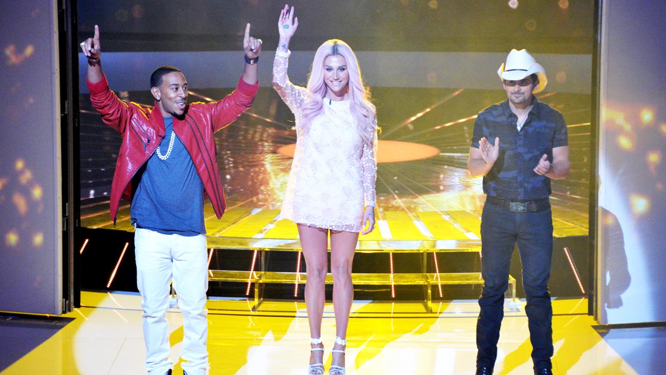 Rising Star Kesha Ludacris Brad Paisley Premiere Episodic - H 2014
