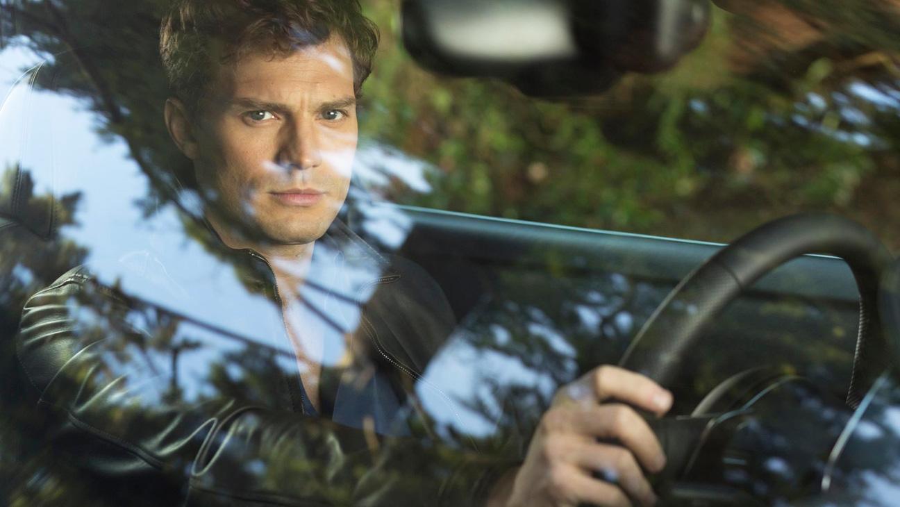 50 Shades of Grey Jamie Dornan in Car - H 2014