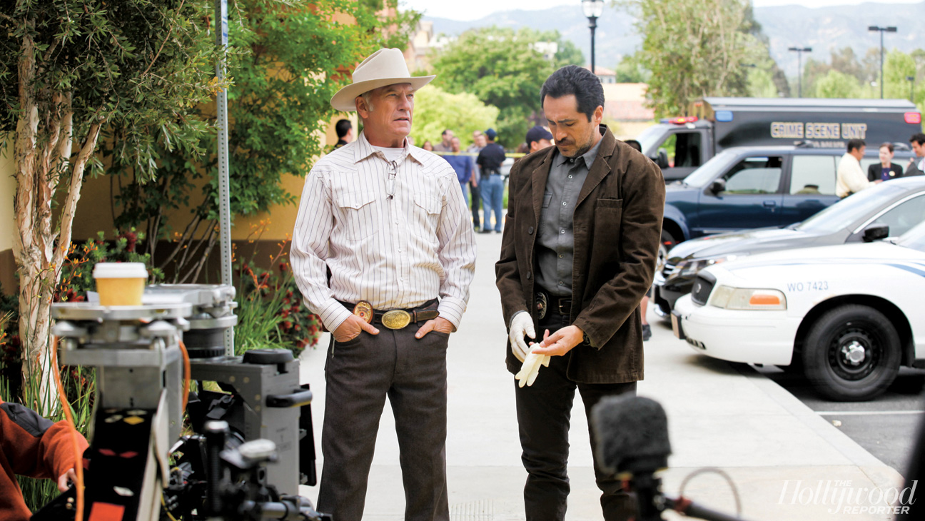 Ted Levine and Demian Bichir