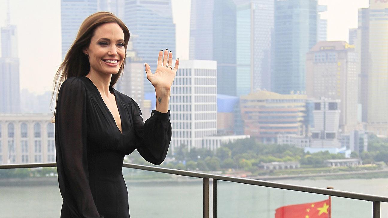 Angelina Jolie Shanghai Horizontal - H 2014