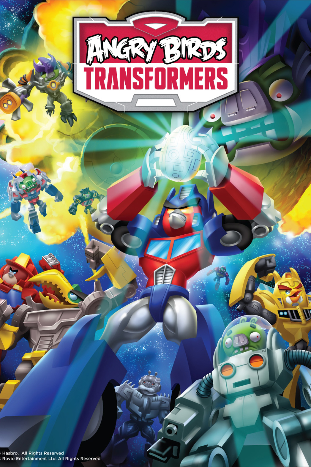 Angry Birds Transformers Poster - P 2014