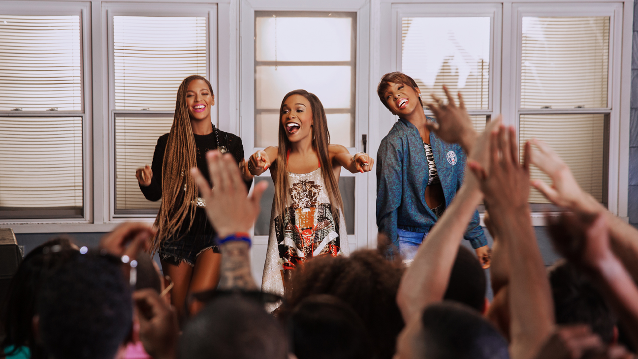Beyonce Michelle Willams Kelly Rowland 2014 L