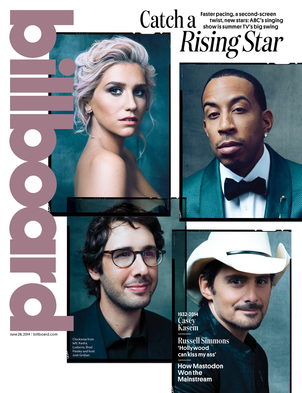 Issue 21 Billboard COVER Rising Star - P 2014