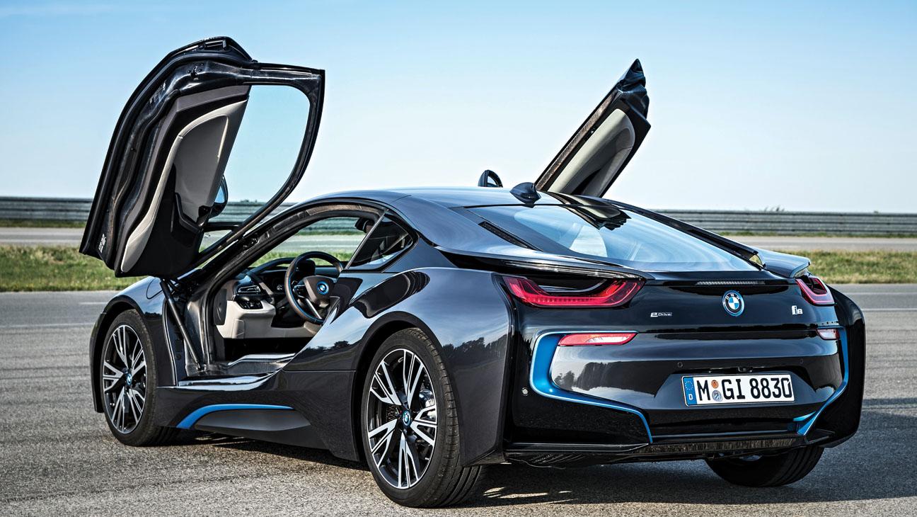 BMW i8 Electric Car - H 2014