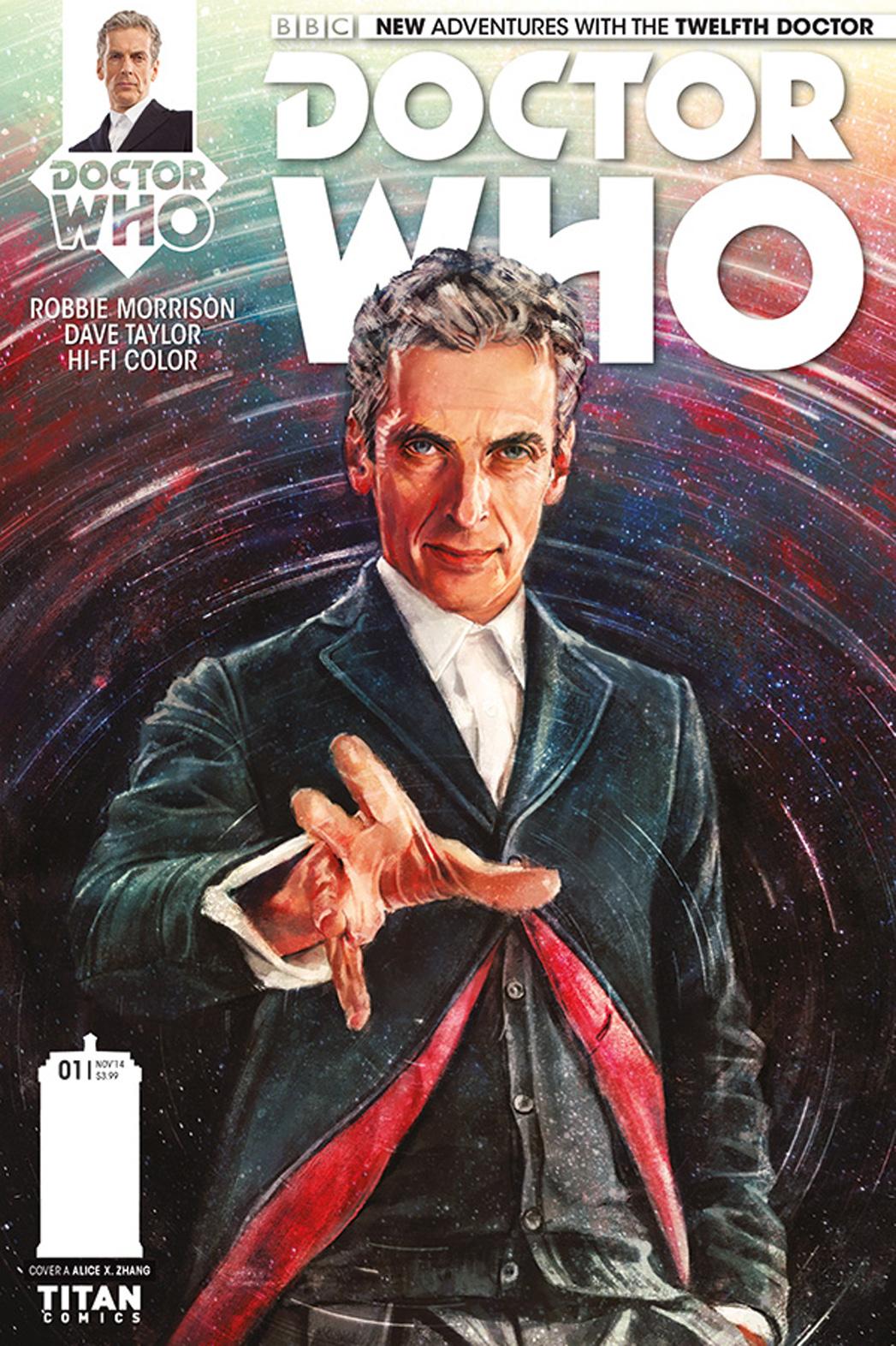 Doctor Who 12th Doctor 1 Cover - P 2014