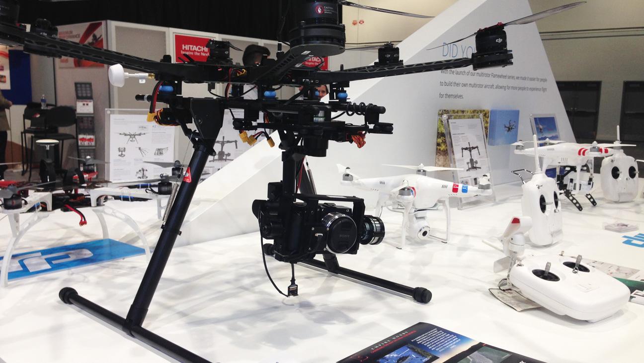 Drones 2014 NAB Show - H 2014