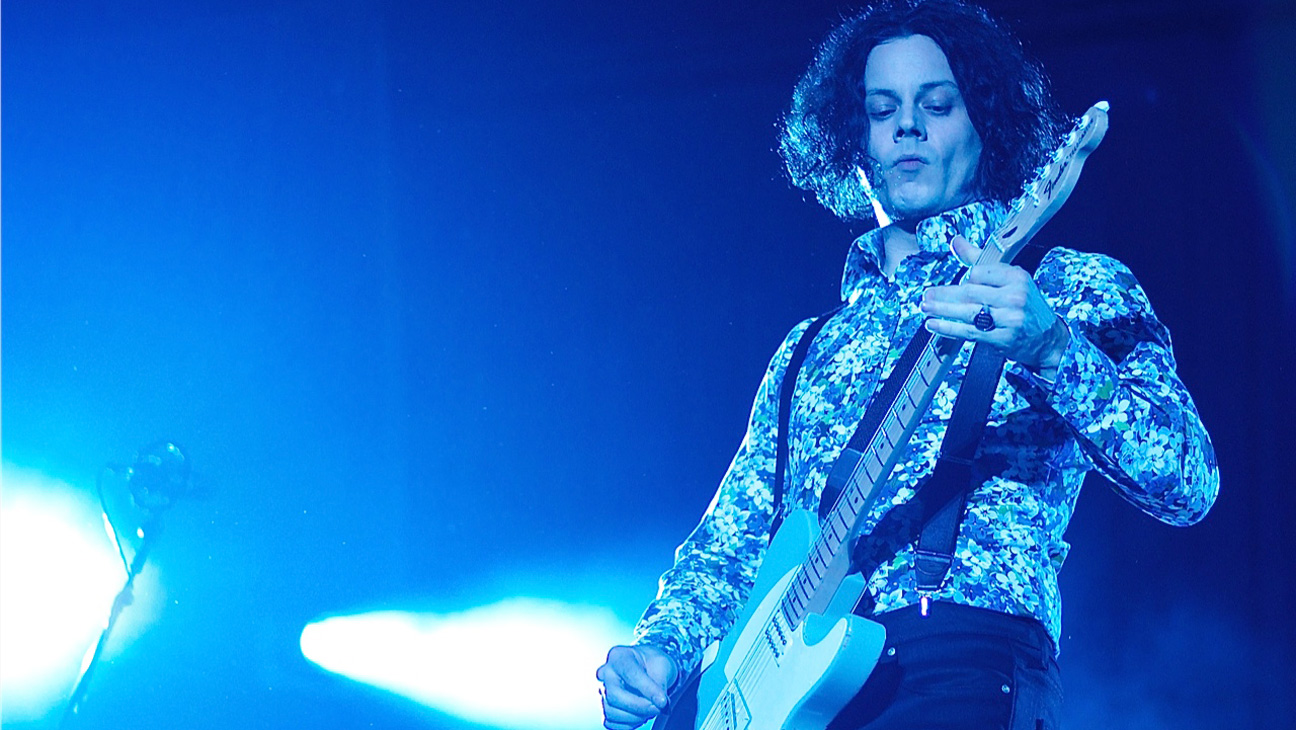 Jack White Governors Ball Performance - H 2014