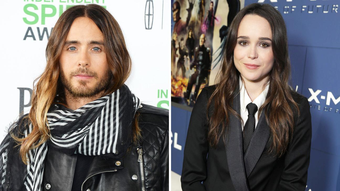 Jared Leto Ellen Page Split - H 2014