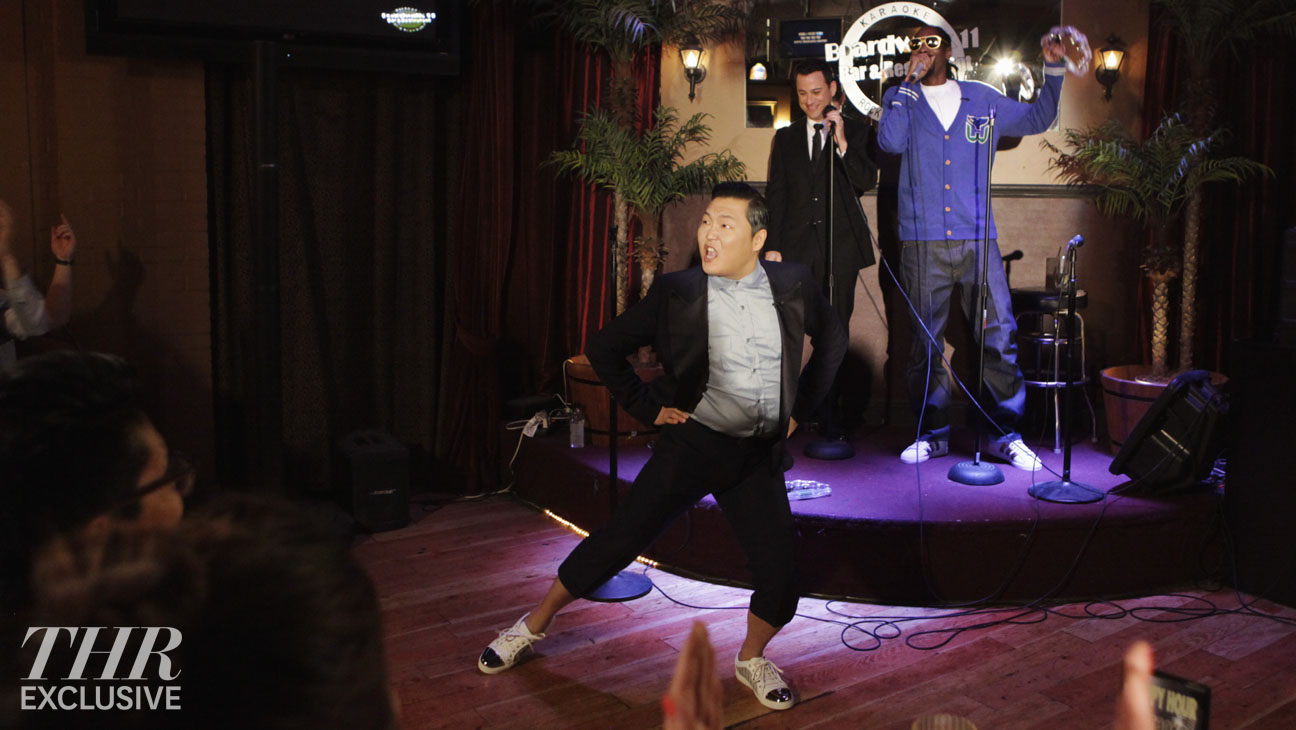 Jimmy Kimmel Live karaoke Psy Snoop Dogg - H 2014