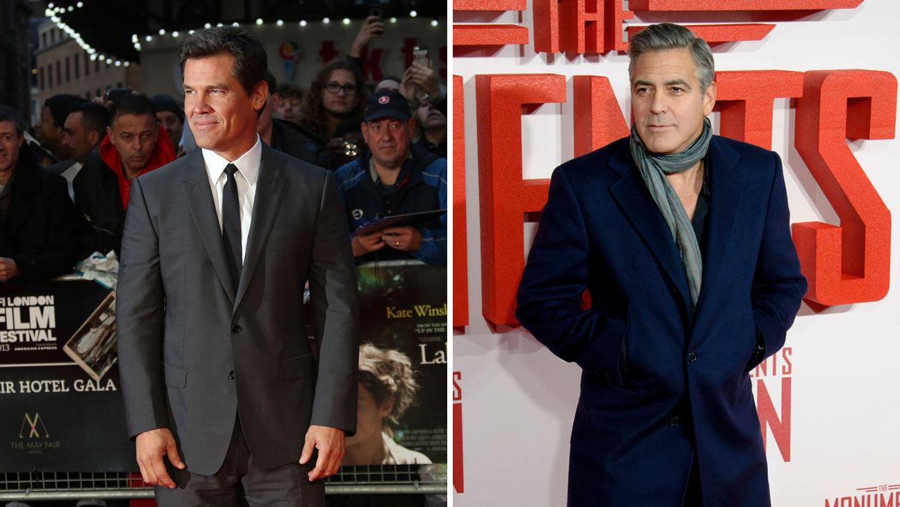 Josh Brolin George Clooney - H 2014