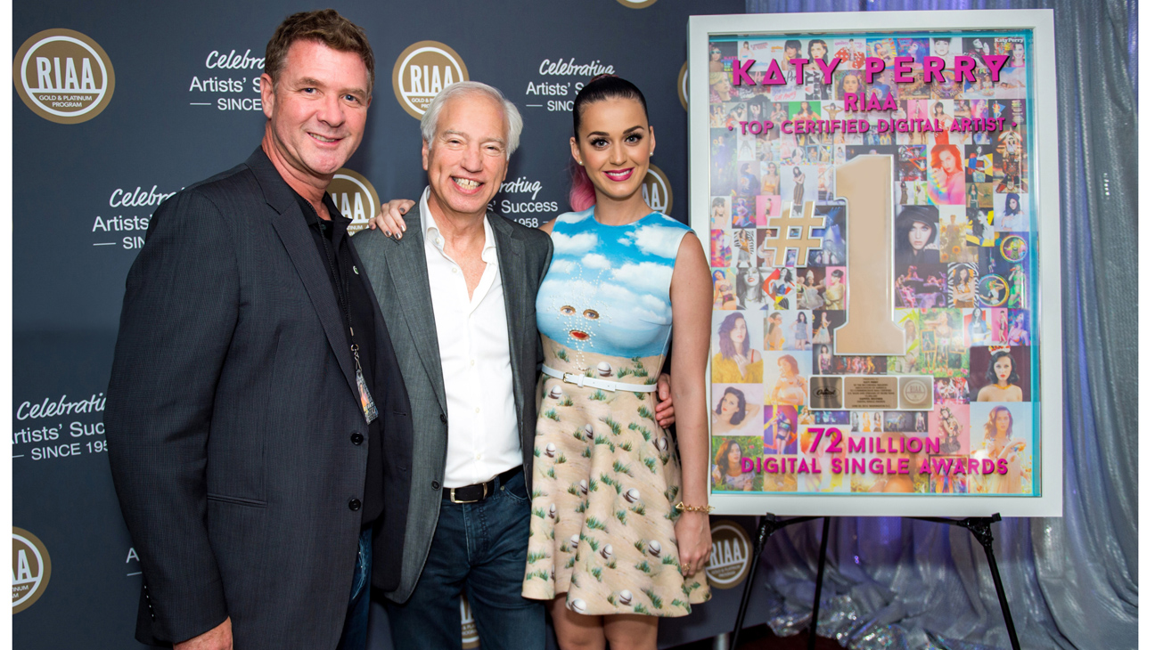 Katy Perry RIAA 2014 L