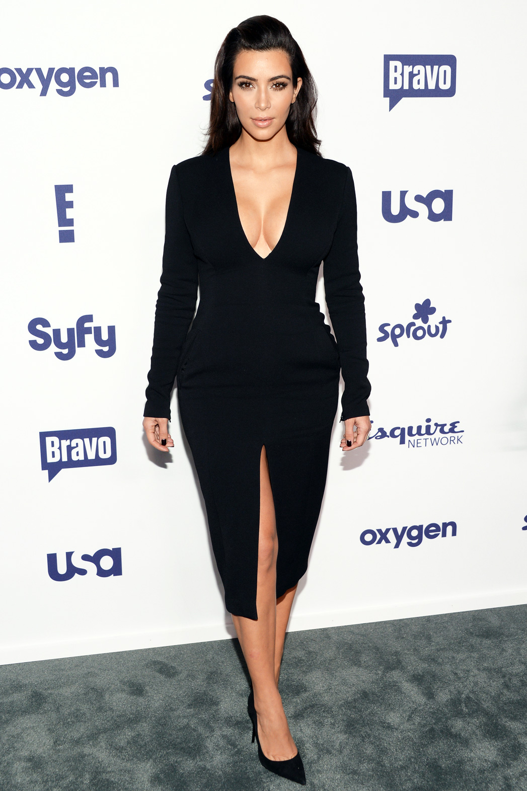 Kim Kardashian NBCUniversal Cable Entertainment 2014 Upfront - P 2014