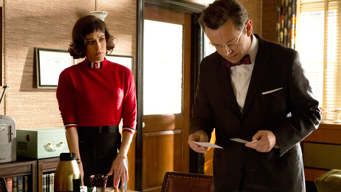Masters of Sex Lizzy Caplan Michael Sheen - H 2014
