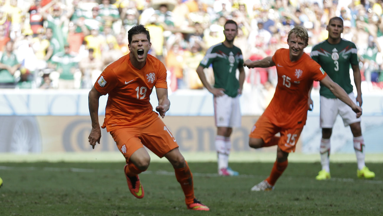 Netherlands Mexico World Cup - H 2014