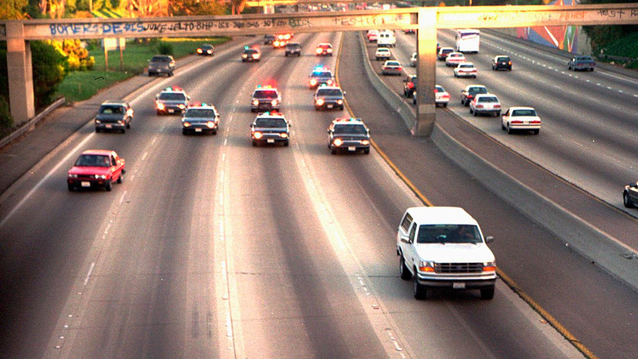 OJ Simpson 1994 Car Chase - H 2014