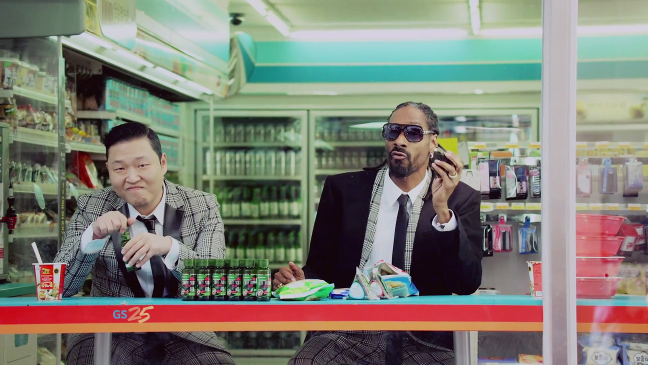 Psy Snoop Dogg Music Video Screengrab - H 2014