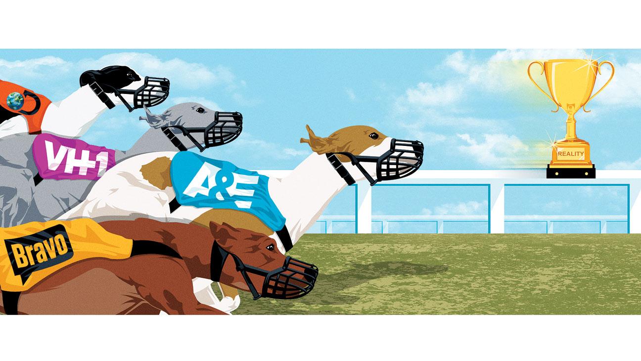 Reality Race Illustration - H 2014