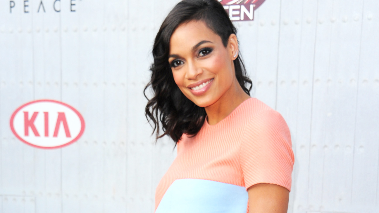 Rosario Dawson Guys Choice Awards Arrivals - H 2014