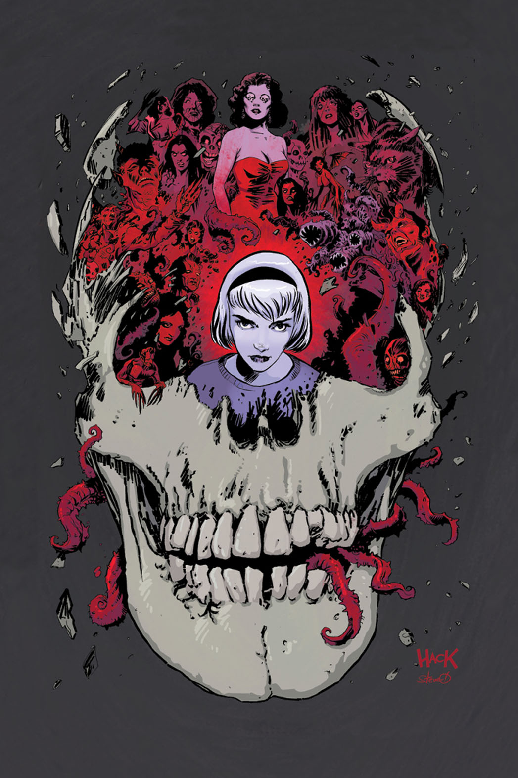 Sabrina Comic Cover - P 2014