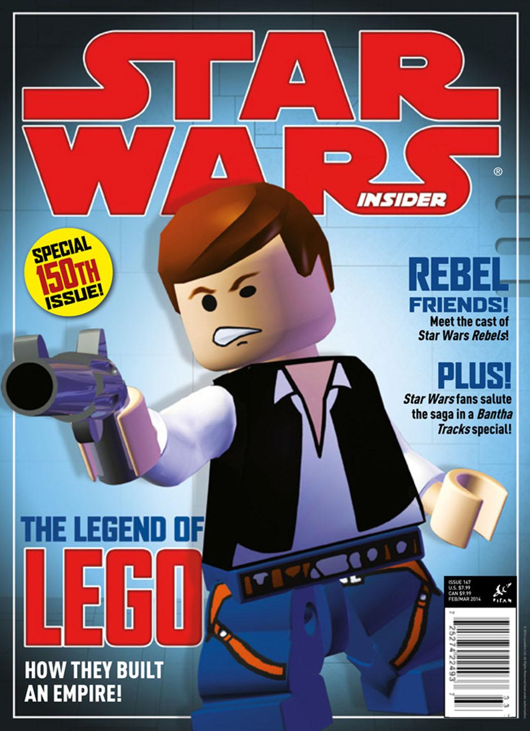 Star Wars Insider 150 Cover - P 2014