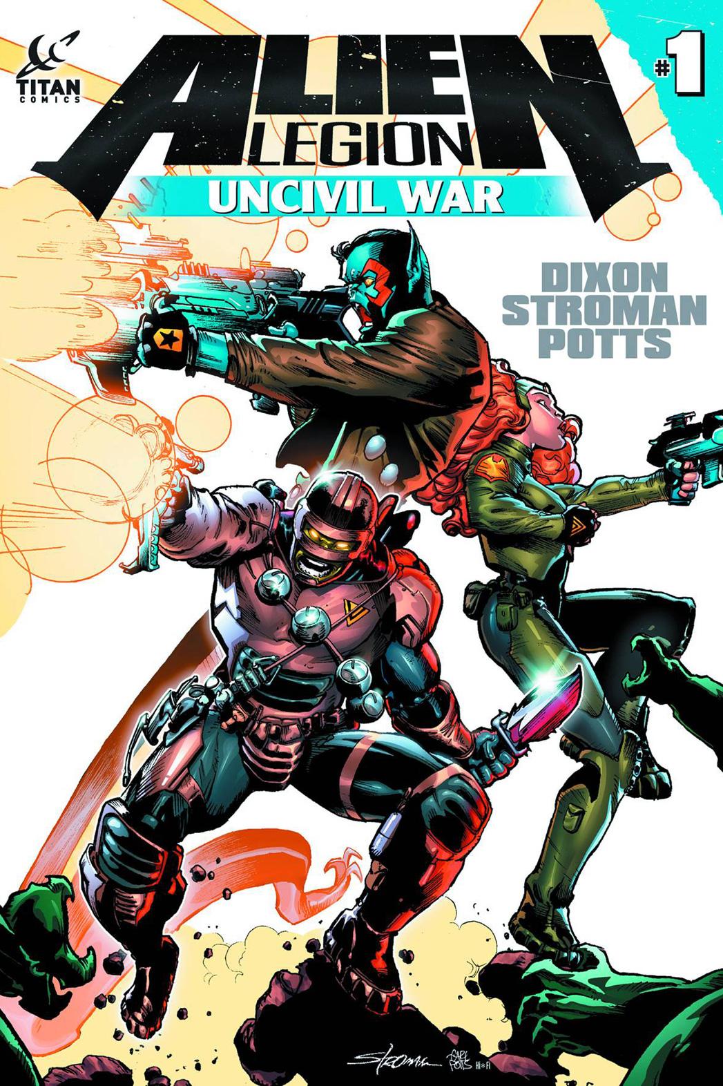 Uncivil War 1 Cover - P 2014
