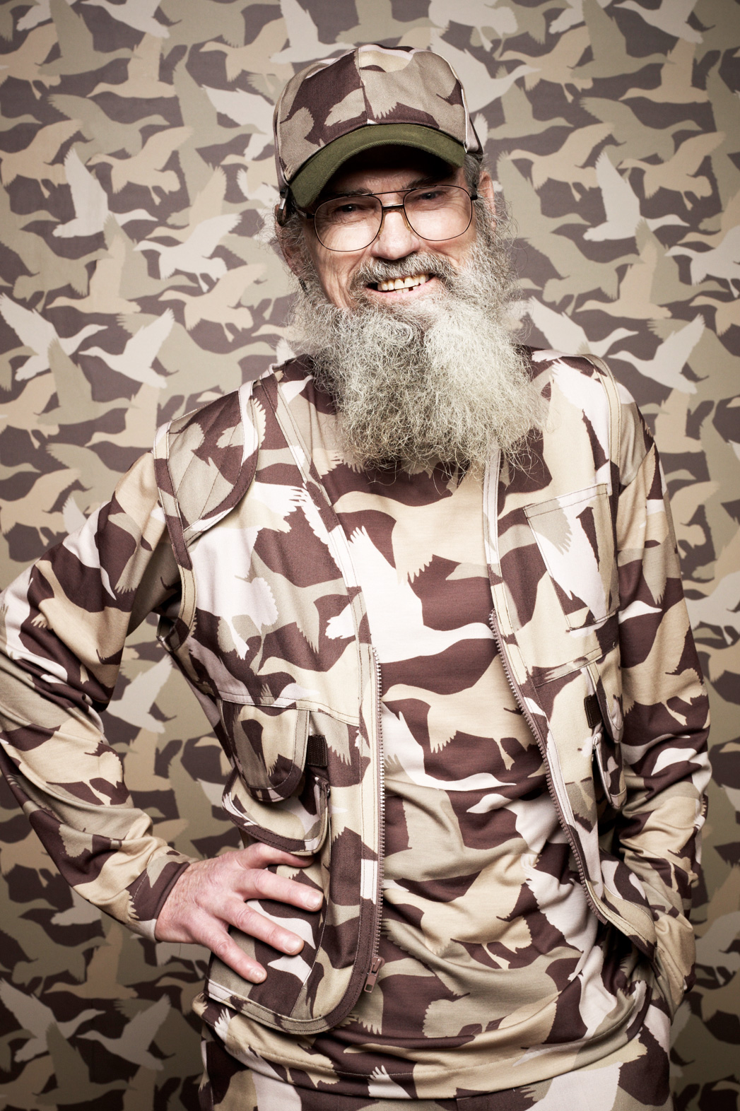 Uncle Si Robertson Duck Dynasty PR - P 2014