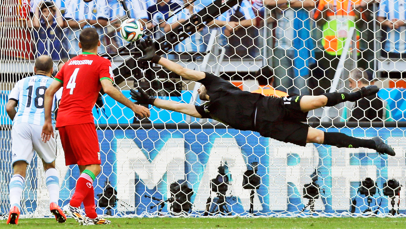 World Cup Iran Argentina Match - H 2014