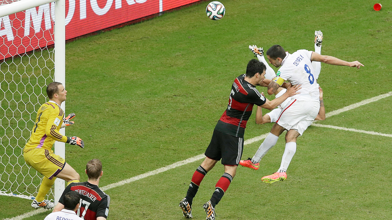 World Cup USA Germany Match Dempsey - H 2014
